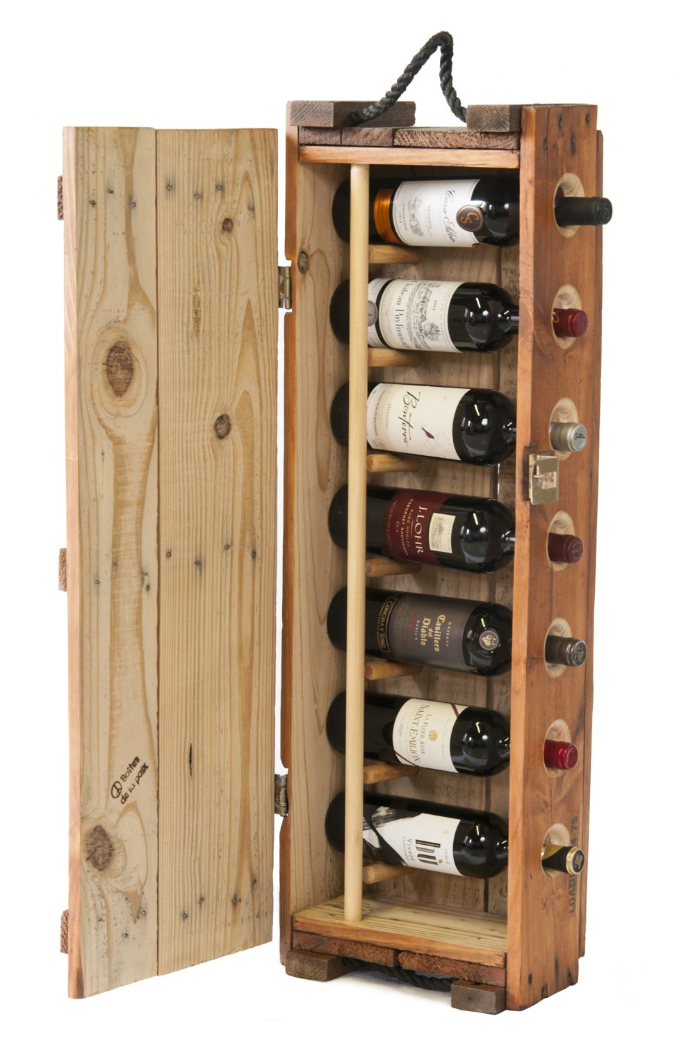 Wine Holder Stand Wine Rack Made From An Authentic Us Army Ammunition Box Designboom Shop