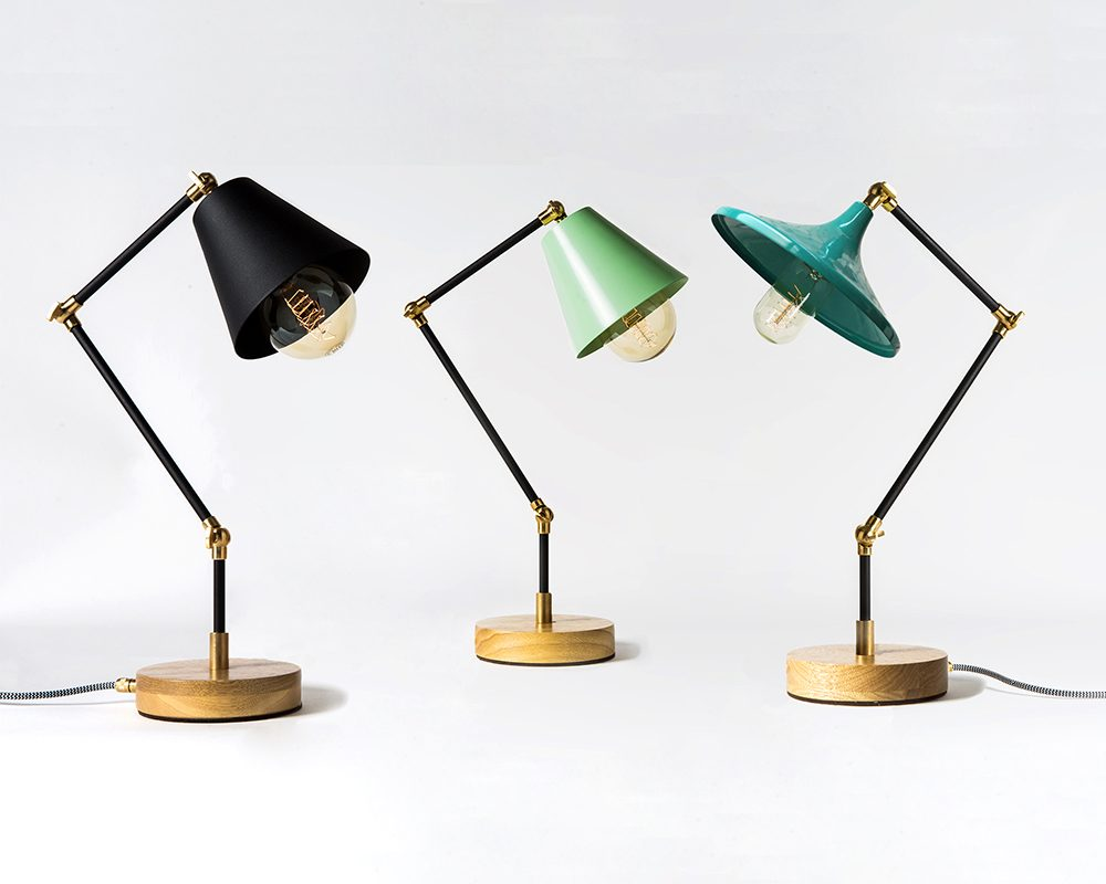 Desk Lamp Vintage Inspired Desk Lamps With An Industrial Flair Designboom Shop