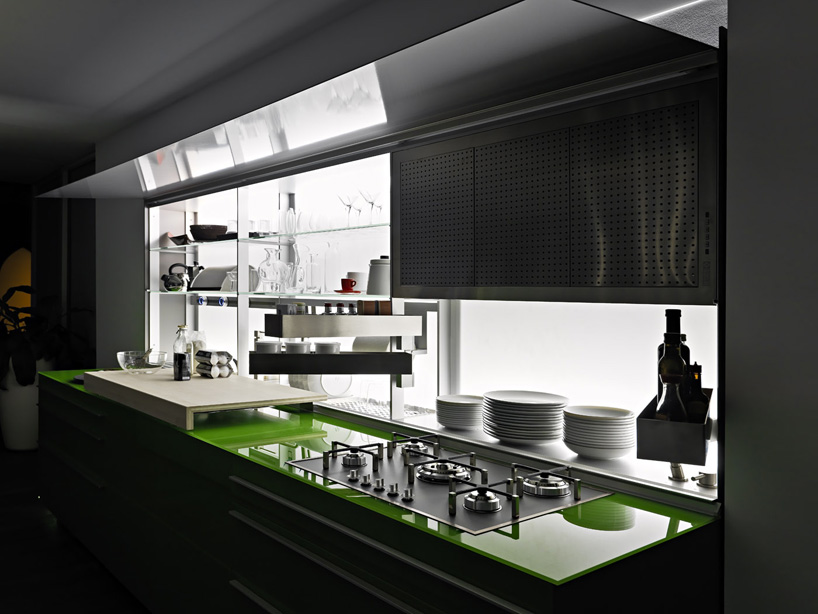 Kitchen Island Depth Valcucine: New Logica System