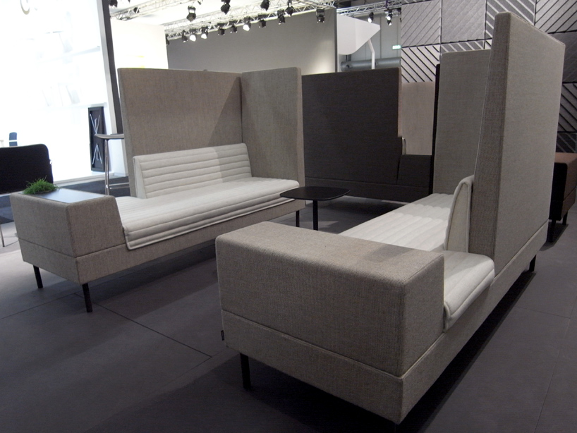 Office Sofa With High Back Ineke Hans: Smallroom For Offecct
