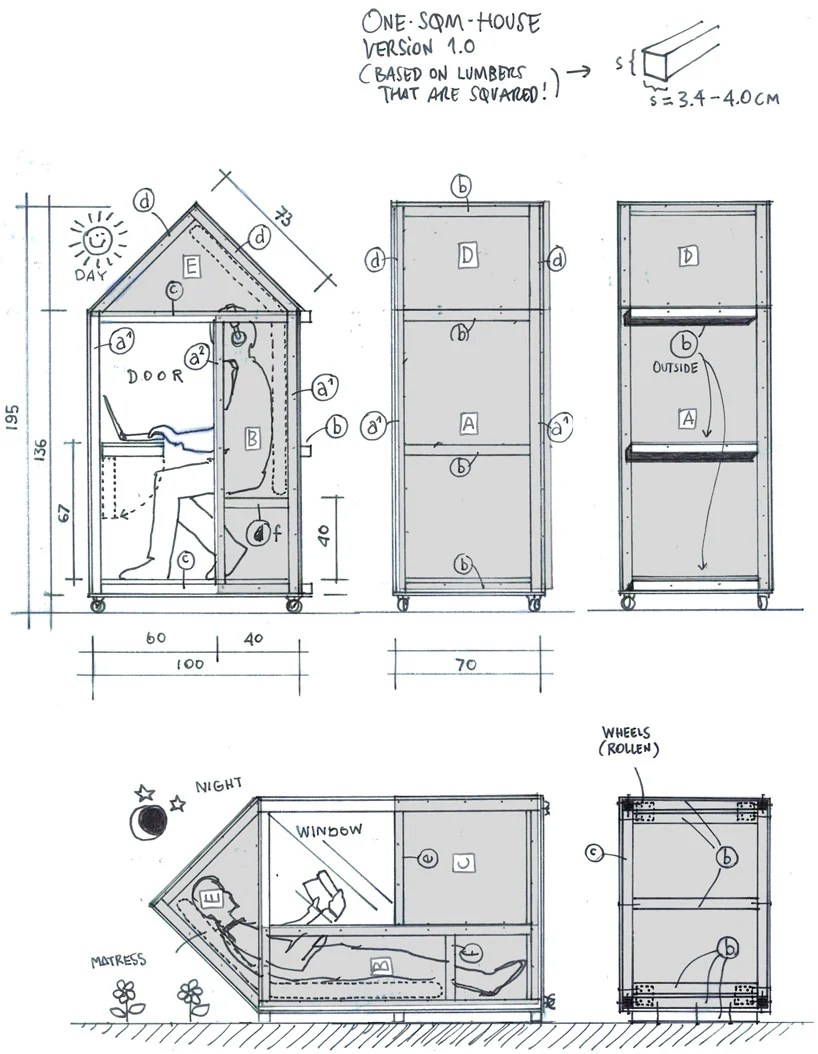 Tiny House Bauplan 3 Tiny House Plans Can You Handle Living In These Tight Quarters