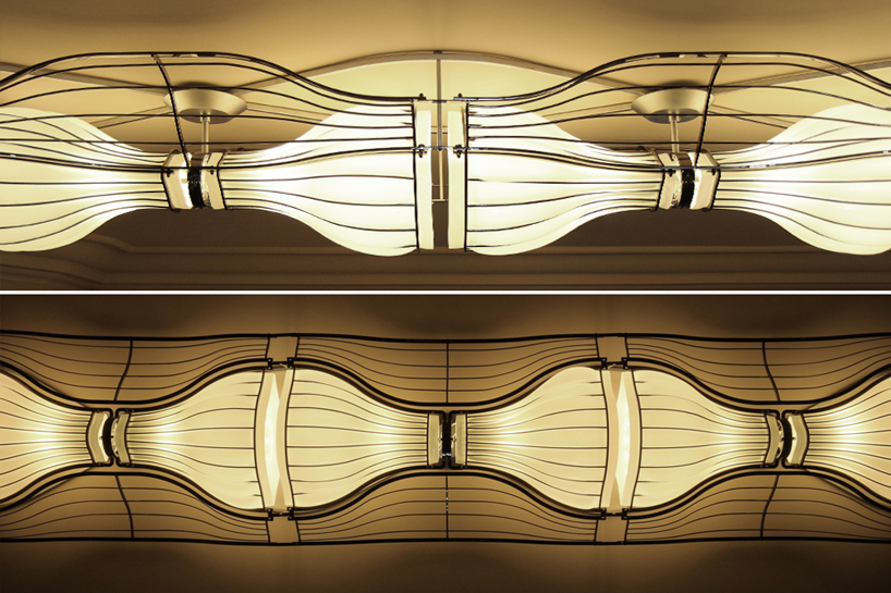 Design Sofa Vancouver Rhythm Plafoniera - A Suspended Flowing Light By I M Lab