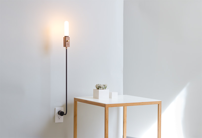Wandleuchte Kabel Feltmark's Wald Lamp Is A Simple, Holistic Sum Of