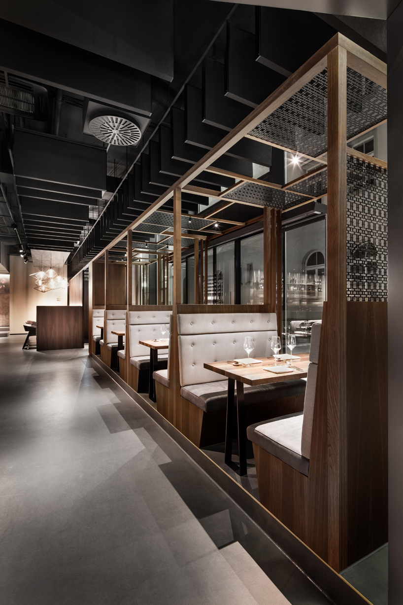 Bartheke Dittel Architekten's Enso Sushi + Grill Strives For