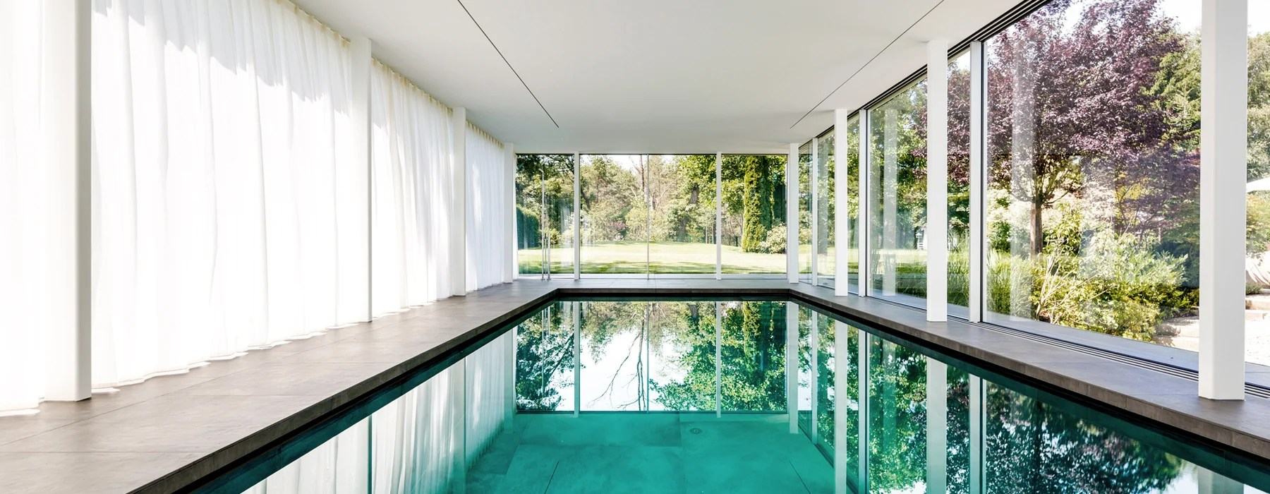 Poolhaus Meer Architekten Private Poolhouse In Munich