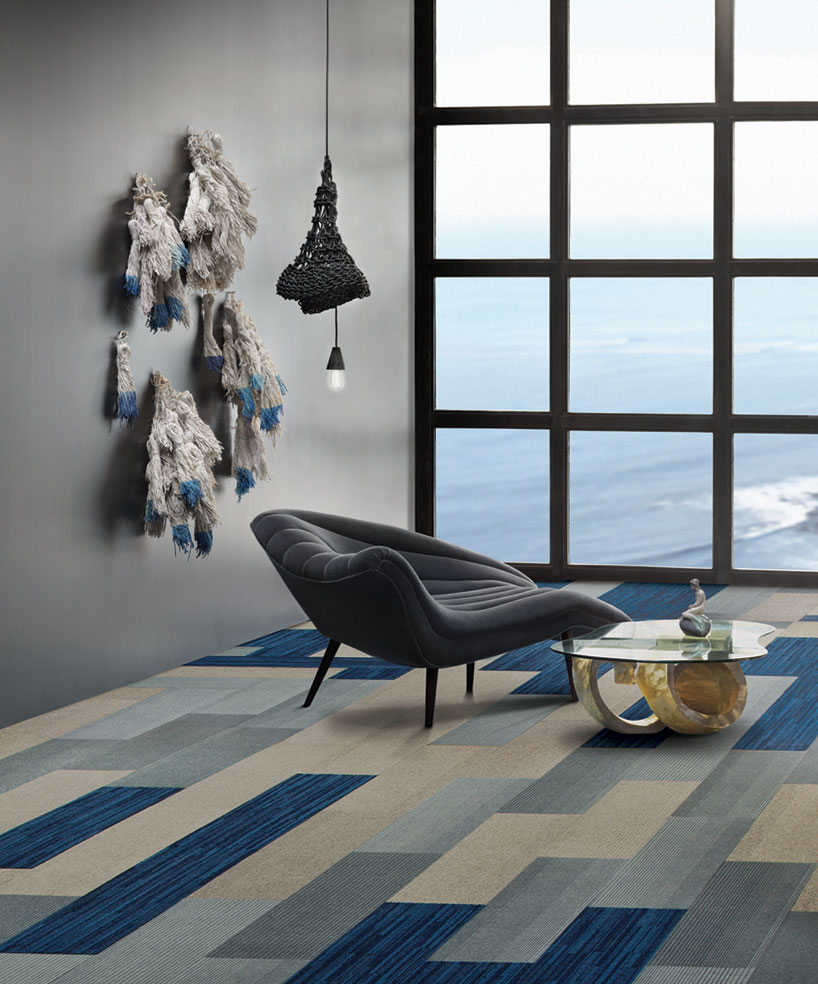 Teppichboden Design Interface Net Effect Carpet Tile Collection Reflects