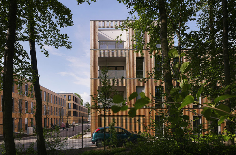 Terrassen Hamburg Lan Redefines Row-house Typology In Neue Hamburger Terrassen