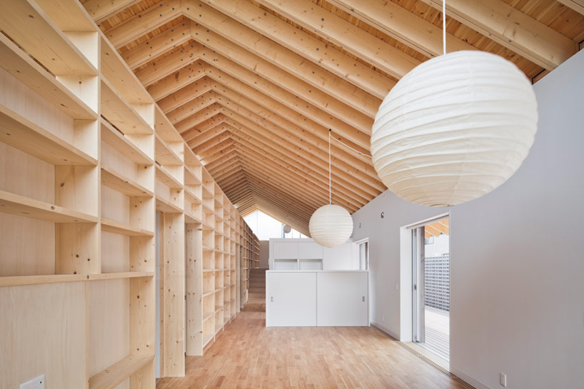 Stoere Plank Keuken Facet Studio Pitches Majestic M House Roof With Timber Rafters