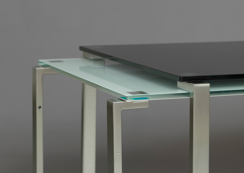 Konstantin Grcic Jean Nouvel's Expandable 1=2 Table By Cassina At Imm