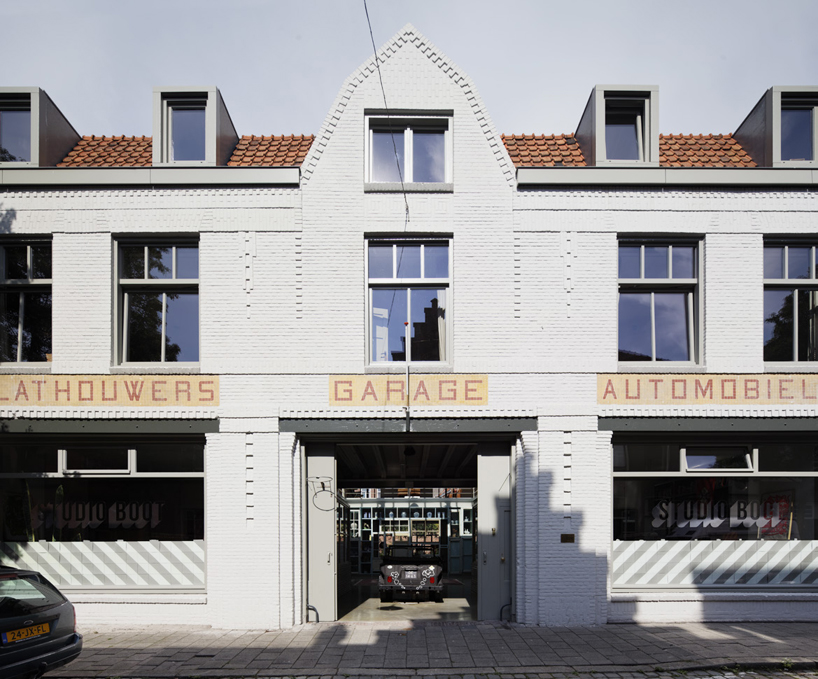 Cita Architecten Hilberink Bosch Transforms Old Garage Into Integrated Live