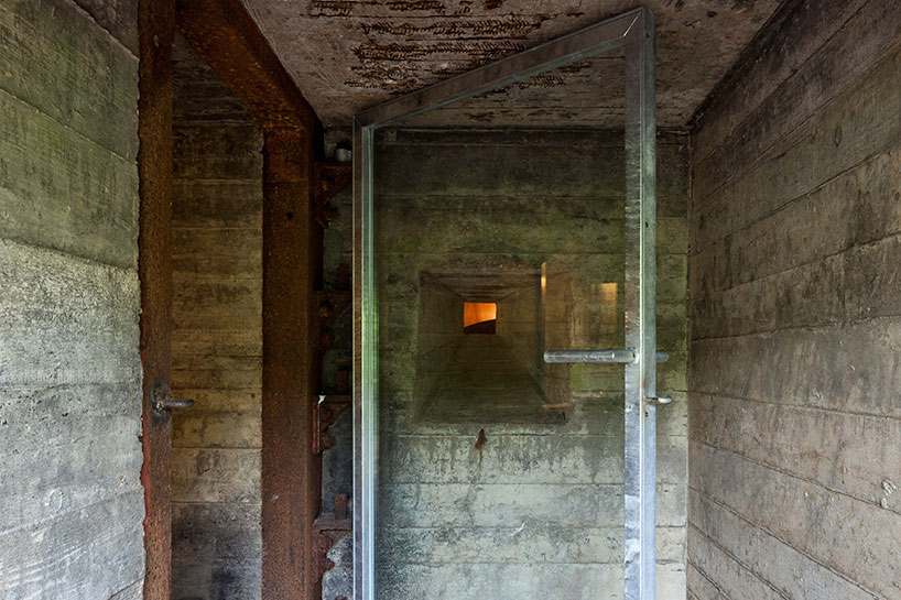 Lamp Hal B-ild Converts An Old Concrete Bunker Into A Holiday Home