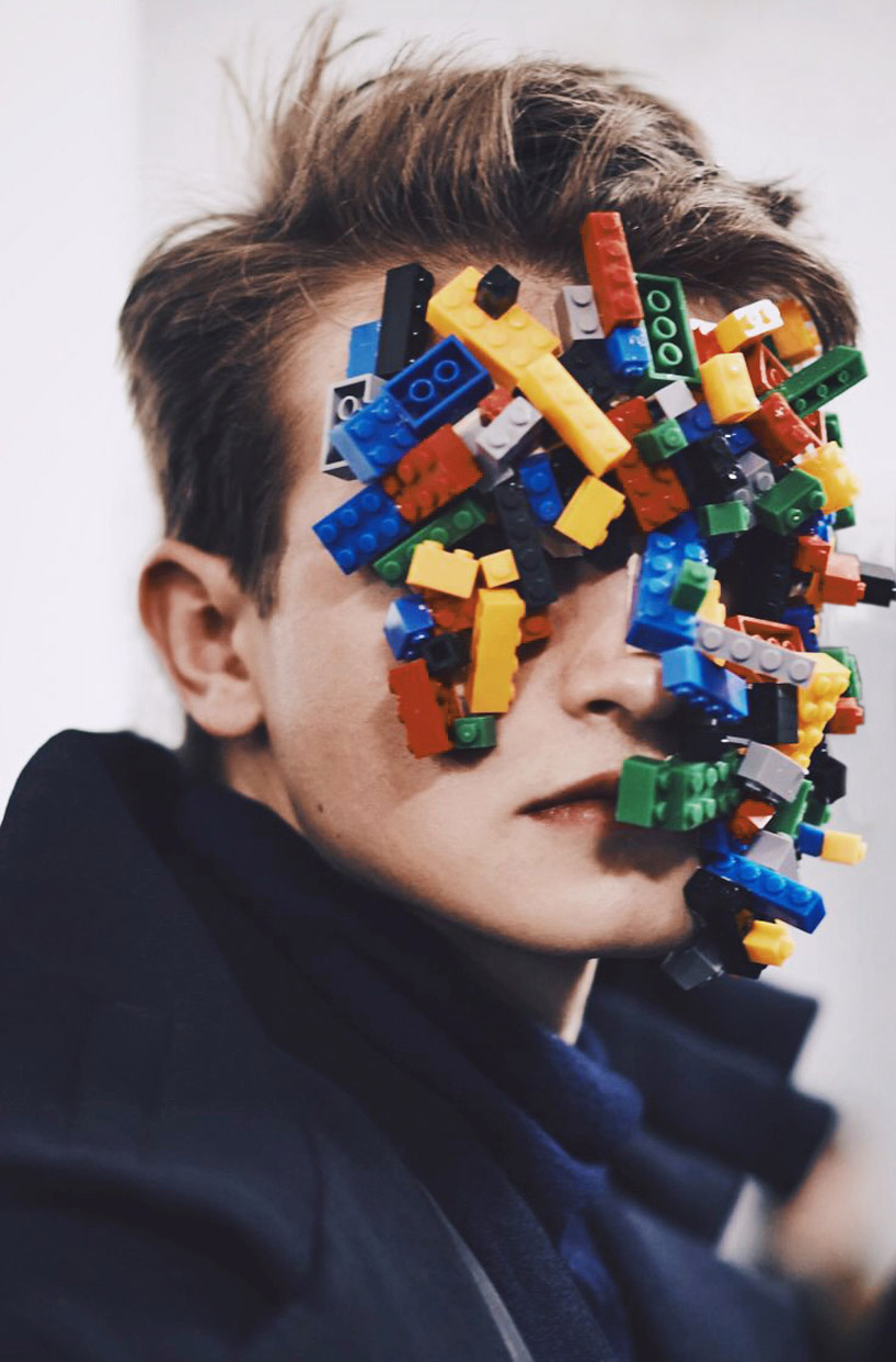 Ikea Art Handmade Lego Masks By Isamaya Ffrench For Agi & Sam Aw15