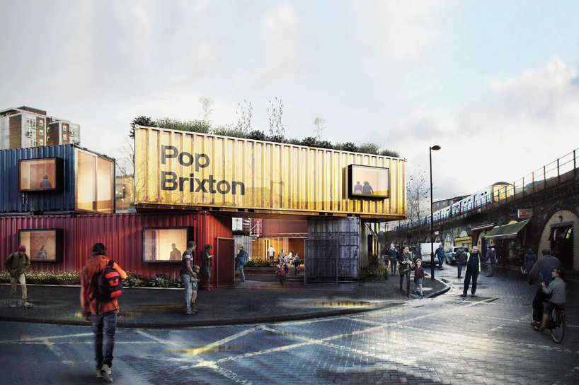 Container Haus Cube Pop Brixton: Carl Turner's Shipping Container Village