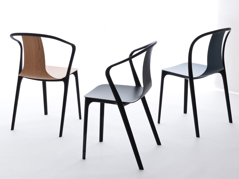 Stuhl Vitra Ronan + Erwan Bouroullec Debut Belleville Collection For Vitra
