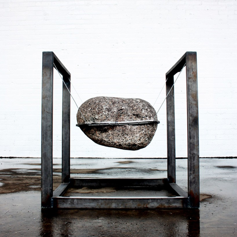 Deckchair Ikea Was The First Chair A Stone? By Lucas Muñoz
