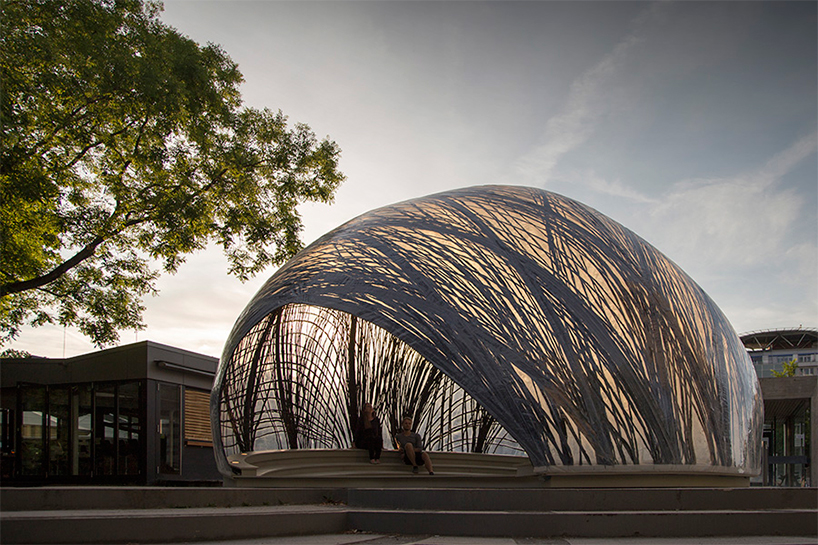 Architektur Stuttgart Subaquatic Water Spider Nests Inform Icd/itke Research