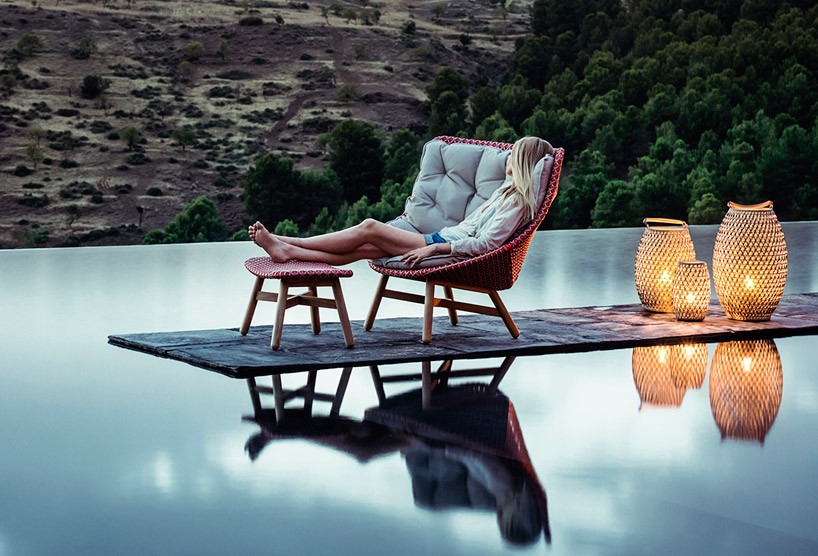 Outdoor Sessel Sebastian Herkner's Outdoor Mbrace Chair Collection For