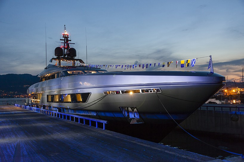 Flying Spaces Baglietto Present Two Decadent Yachts Fast And Unicorn