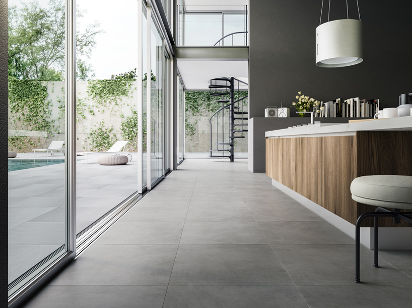 Pvc Fliesen Betonoptik Ceramiche Refin Sizes Things Up With Wide Collection Of