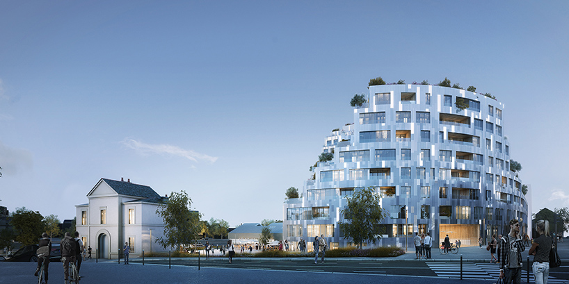 Rennes Architecture Mvrdv Designs Rennes Residential Complex With Façades That