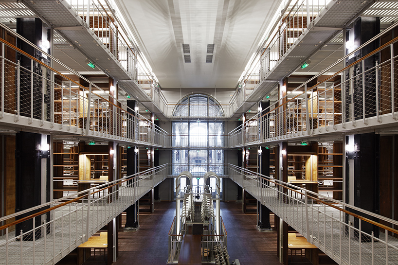 Industrial Design Regal Former National Library Of France Reopens After A Decade