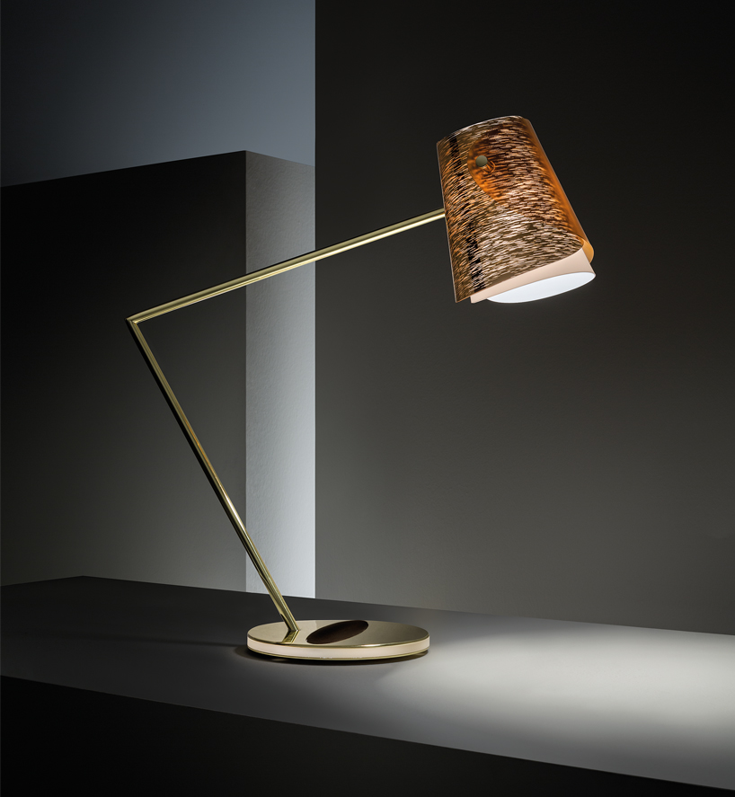 Fixture Lamp Slamp And Montblanc Craft Sensual And Technology-rich