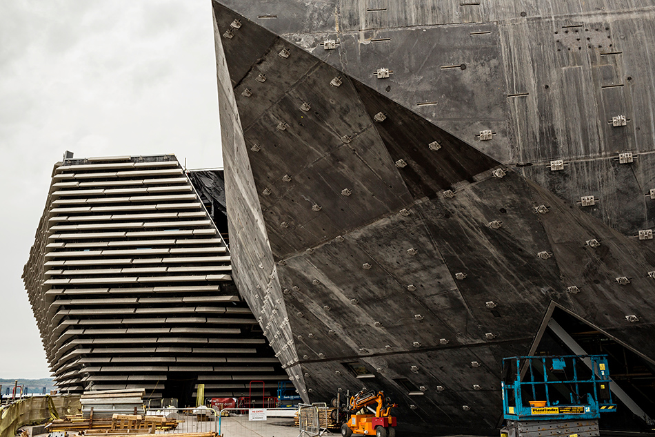 Boom 3d Kengo Kuma-designed V&a Dundee Building Takes Shape In