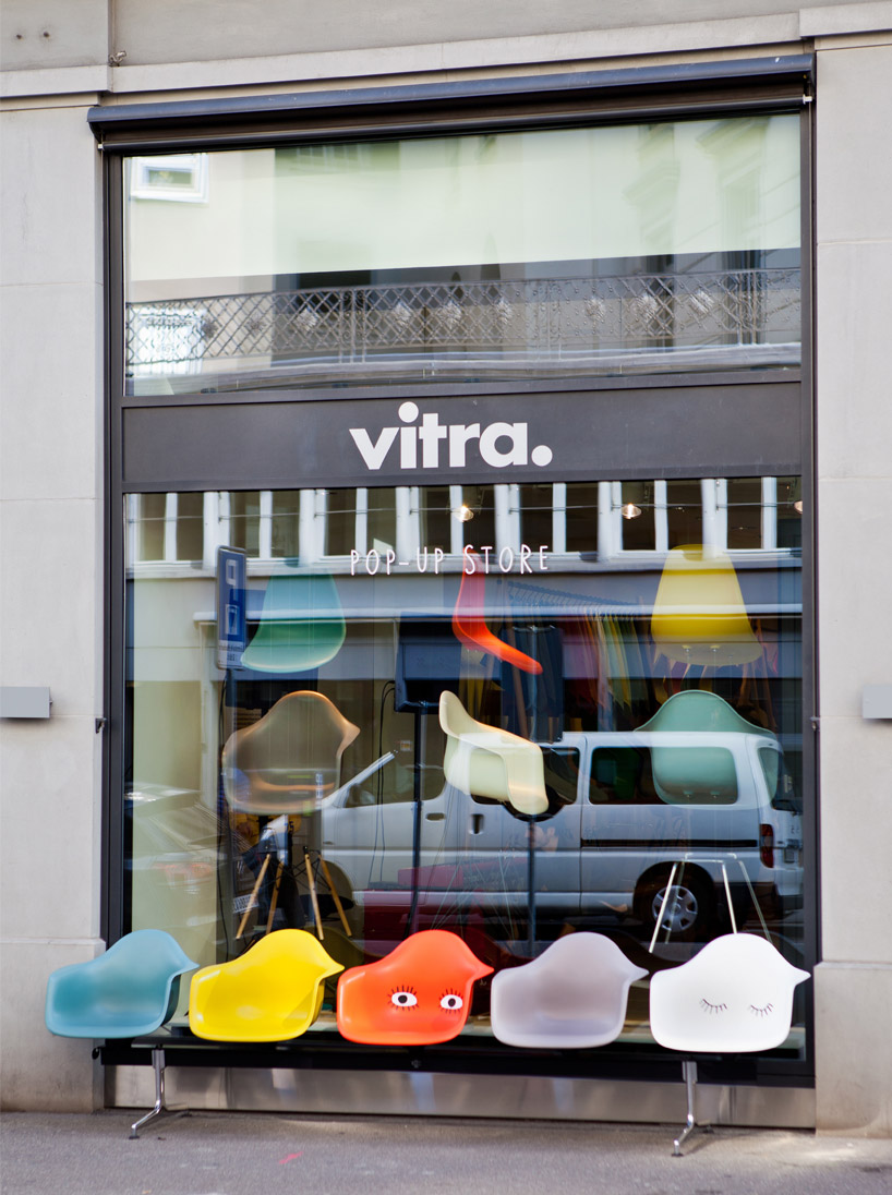 Eames Vitra Vitra Pop-up Stores Celebrate Versatility Of Eames Plastic