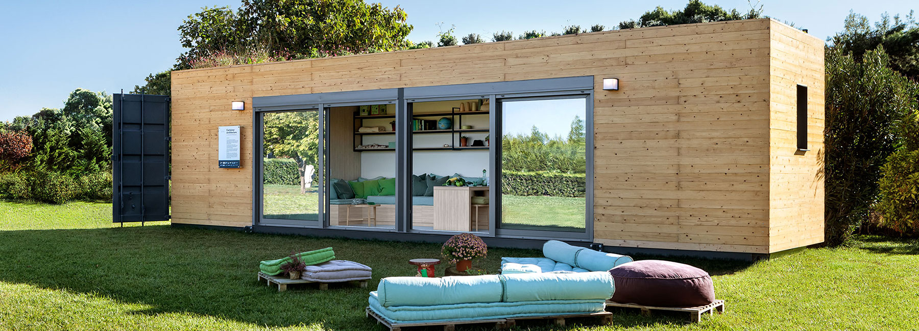 Container Haus Villa Cocoon Modules Coco Mat Envision Nomadic Dwelling With Container