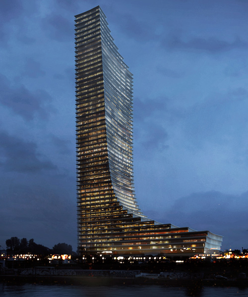Tower Hamburg David Chipperfield Architects Wins Elbtower Competition In