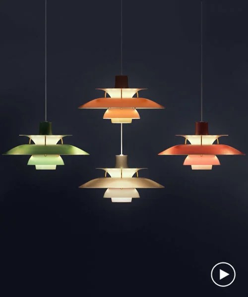 Poul Henningsen Ph5 Ph 5 Lamp By Poul Henningsen Celebrates 60th Anniversary