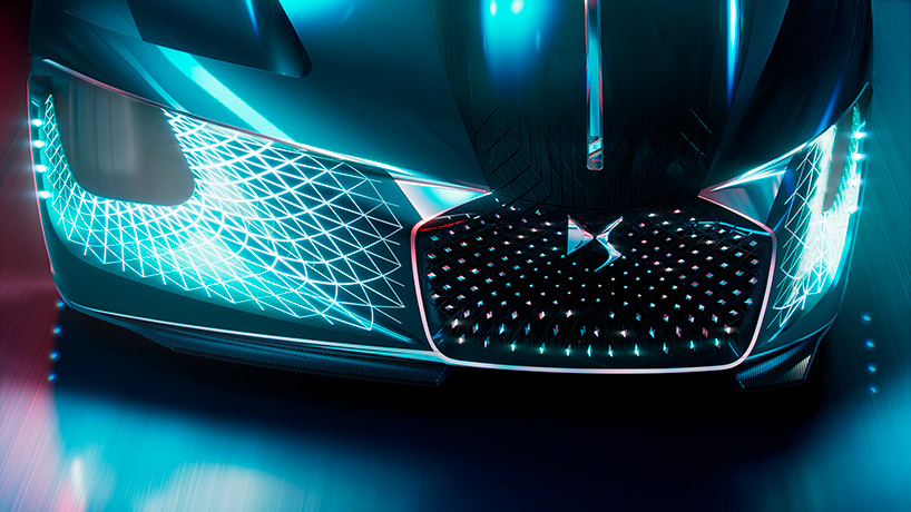 Wallpaper Design A Look Under The Hood Of The Ds X E-tense, The Car From 2035