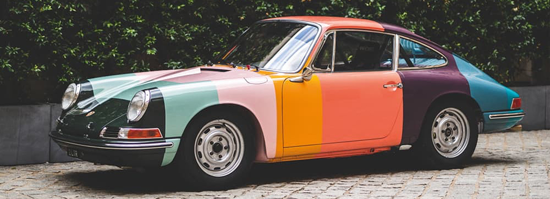 Ikea Le Mans This Porsche 1965 911 Has Been Made Over In Paul Smith S Iconic