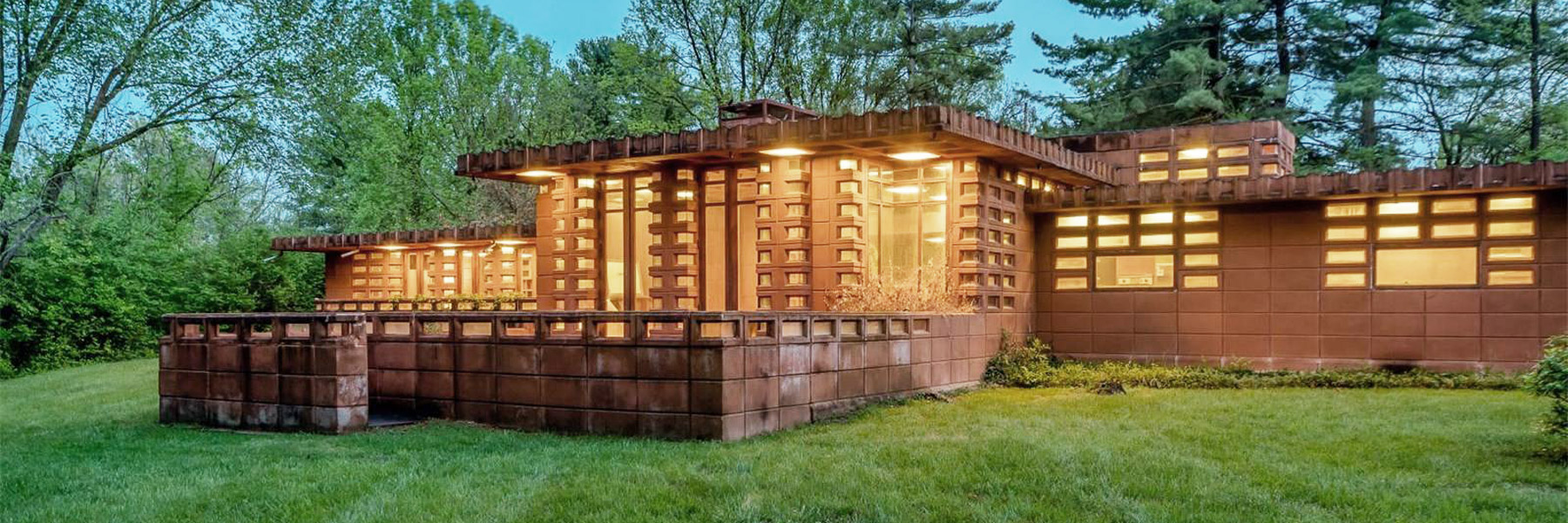 Frank Lloyd Wright Frank Lloyd Wright S Pappas House Goes On Sale Made Entirely