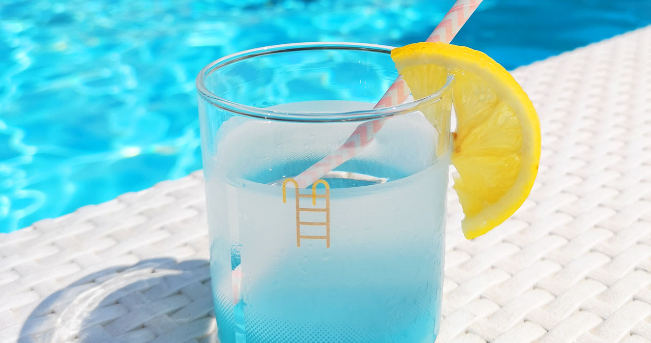 Glas Pool Sip Water And Soak Up Summertime Vibes With Duncan Shotton S