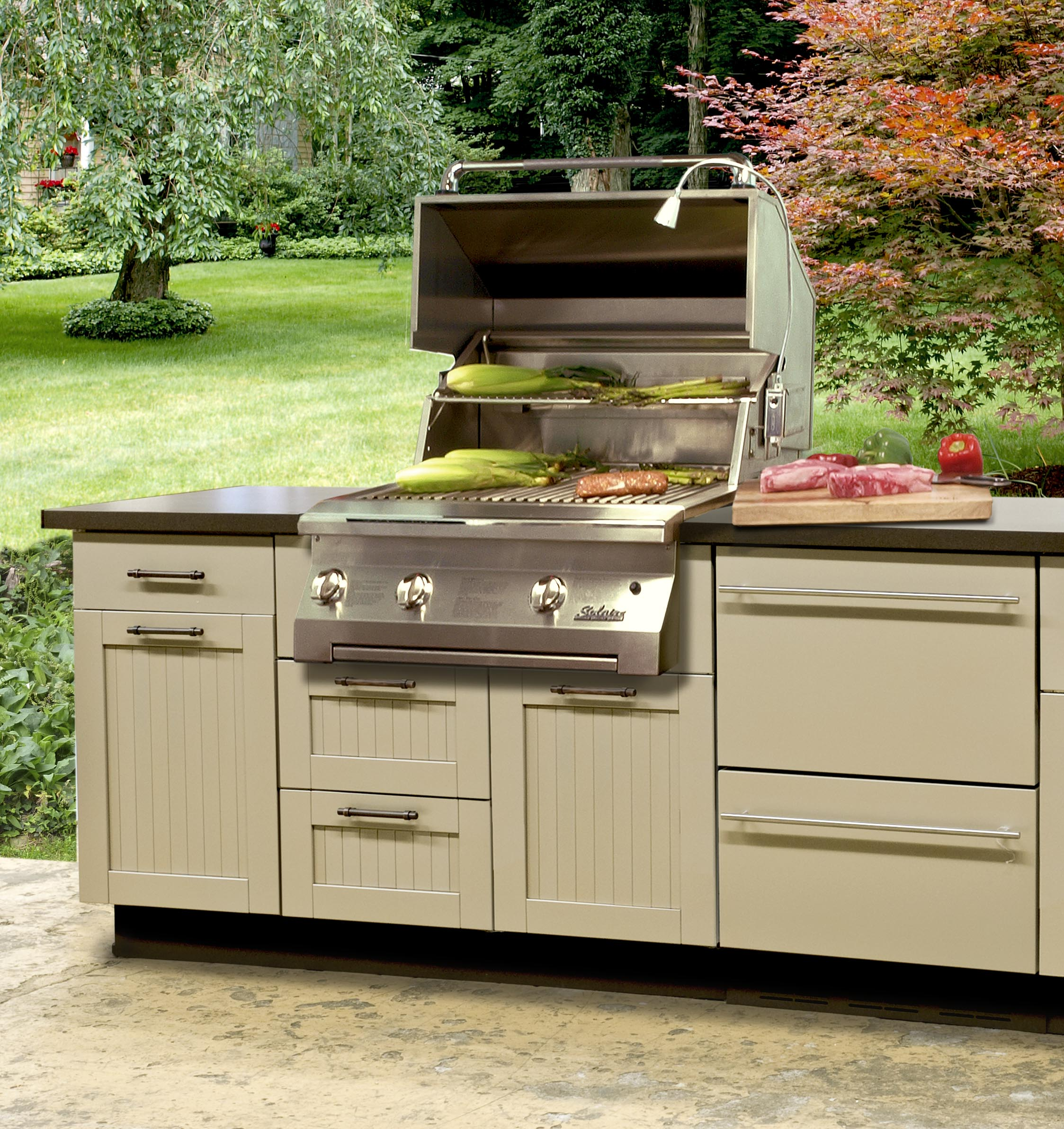 Used Kitchen Cabinets Maryland New Trends In Outdoor Kitchen Ideas For 2017