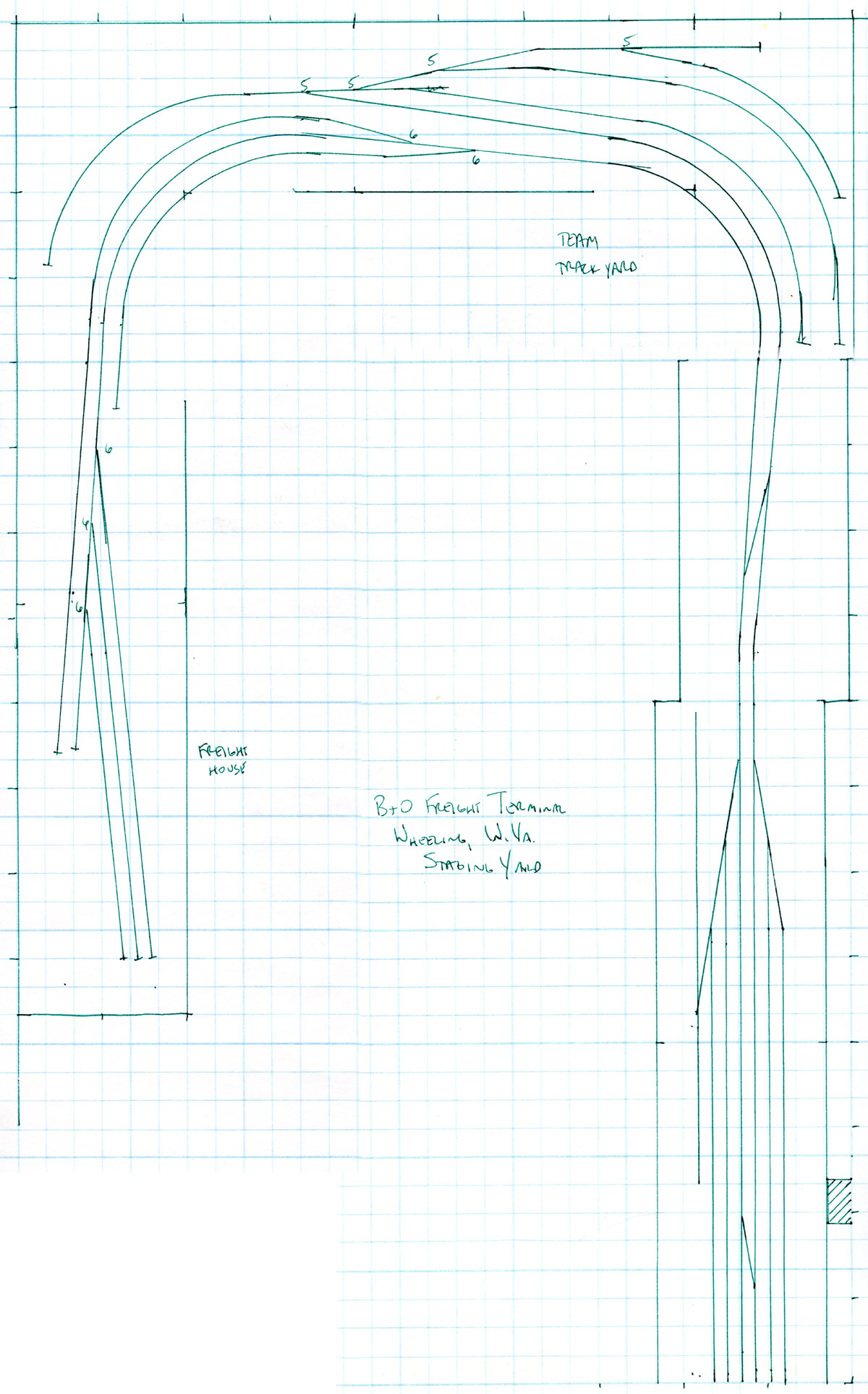 graph paper for designing a room