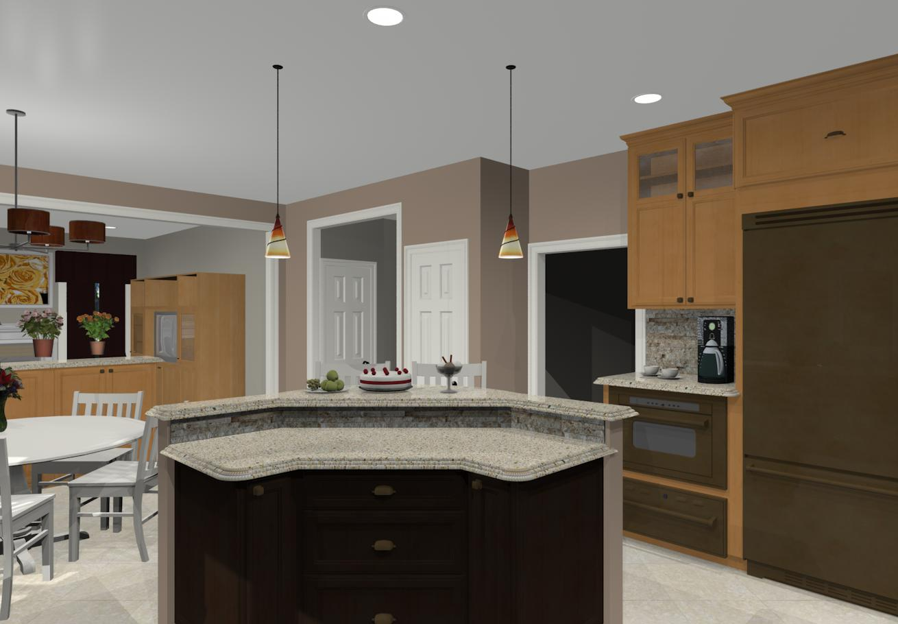 Kitchen Island Shapes And Sizes Different Island Shapes For Kitchen Designs And Remodeling
