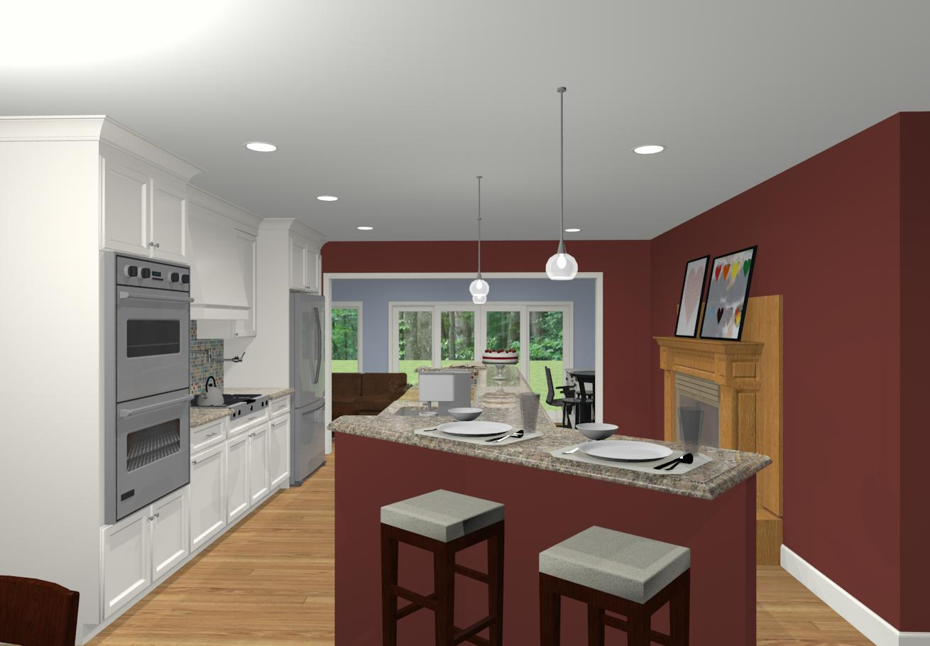 Different Kitchen Islands Different Island Shapes For Kitchen Designs And Remodeling