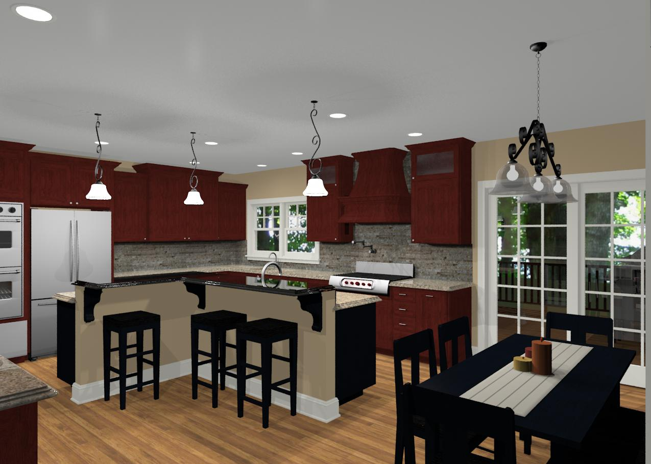 L Shaped Kitchen Designs With Island Different Island Shapes For Kitchen Designs And Remodeling
