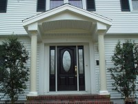 Front Entry Portico Remodeling Projects in New Jersey ...