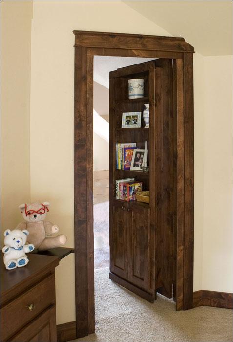Hidden Doors, Bookcases, Secret Door
