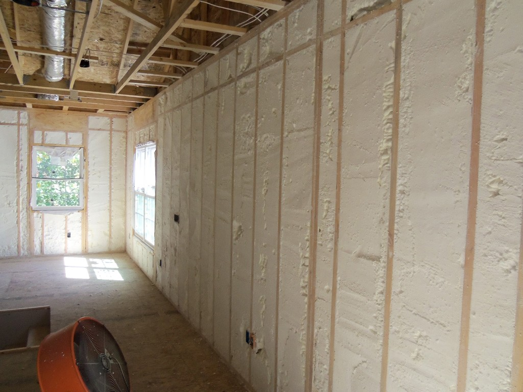 Roze Gipsplaat Spray Foam Insulation For Remodeling Projects Design
