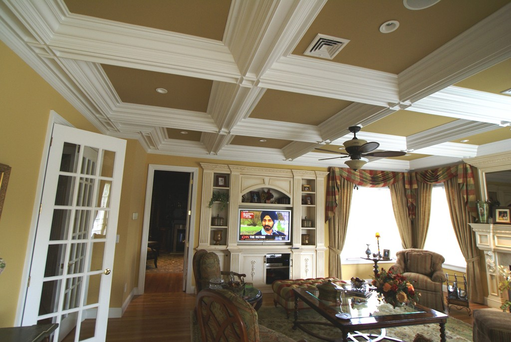 Coffered Ceiling Molding - Design Build Pros