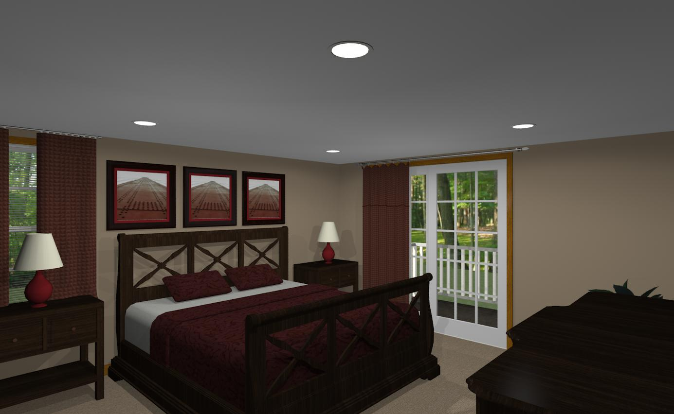 Design Bungalow Bedroom And Bathroom Addition In Ocean County - Design