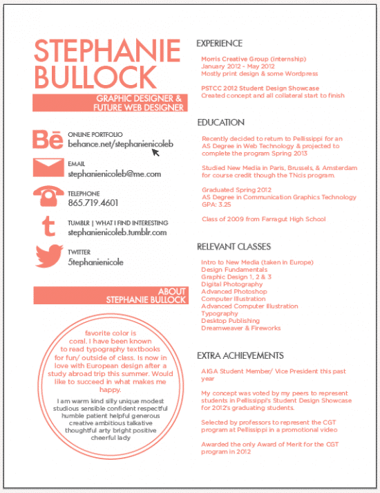 Resume Layout Tips Free Resume Guide 2017 With Amazing Tips And Examples 30 Excellent Resume Designs For Inspiration Design Bump