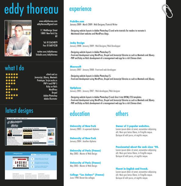 Resume Layout Indesign 28 Free Cv Resume Templates Html Psd Indesign Bashooka 9 Helpful Resume Design Tutorials To Learn Designbump