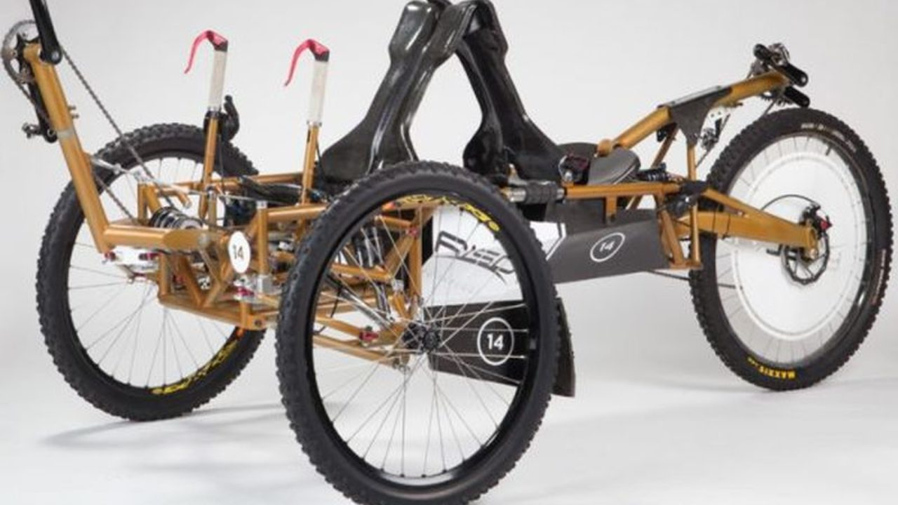 Moon Buggy Diy Recumbent Moon Buggy Trike Can Tackle Commute On The Moon