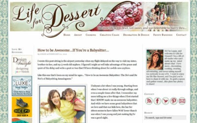 Life for Dessert - lifefordessert.com