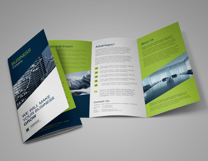 how to make a business brochure - Intoanysearch - tri fold business brochure